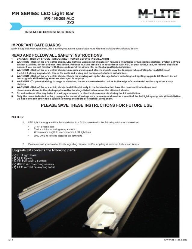 n fab light bar installation instructions