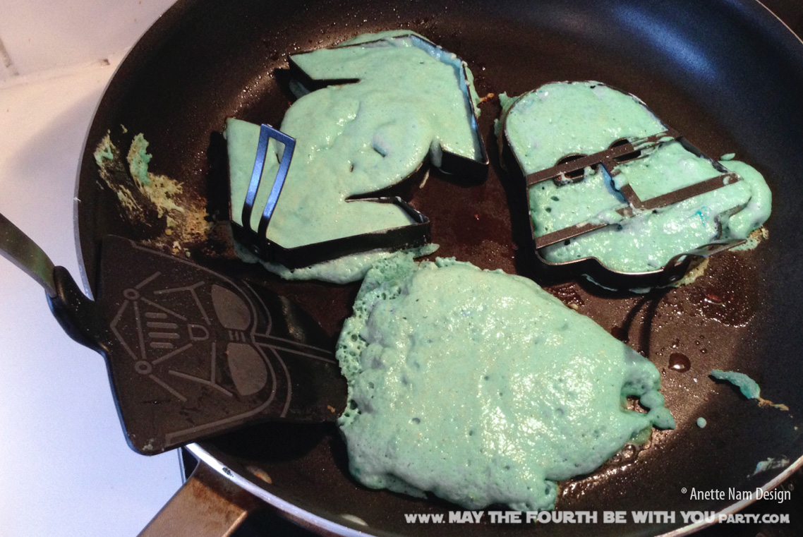 star wars pancake molds instructions