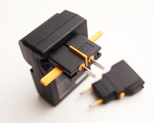 kikkerland universal travel adapter instructions
