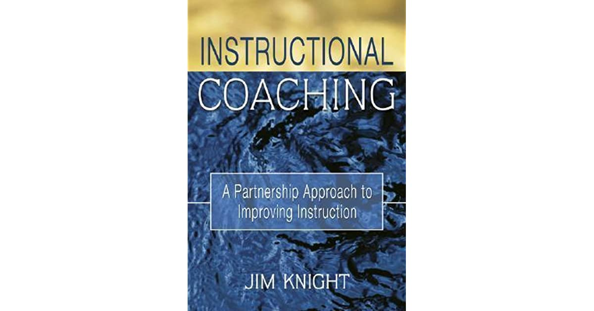 instructional coaching a partnership approach to improving instruction