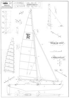 rc model sailboat sail making instructions