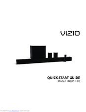 vizio sound bar remote instructions