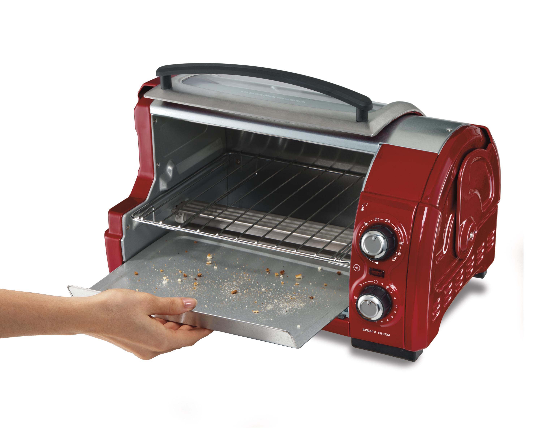 hamilton beach easy reach toaster oven instructions