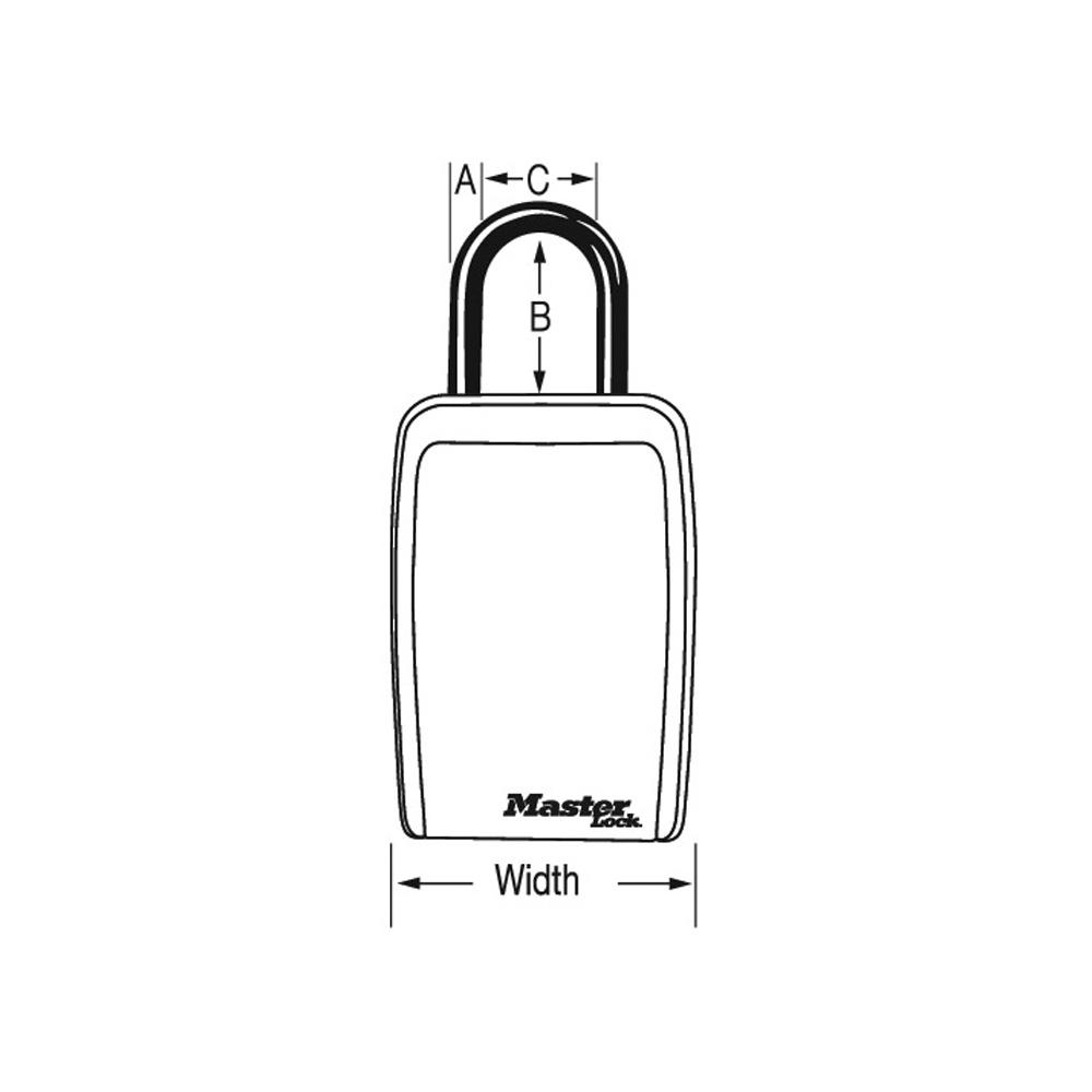 master lock 5400d instructions