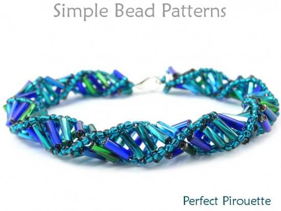 bugle bead bracelet instructions