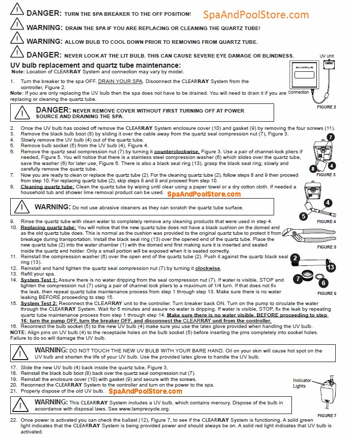 pool pump replacement instructions