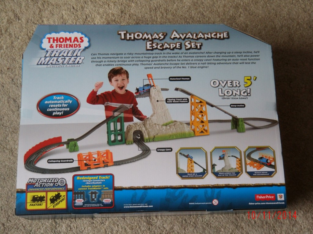 thomas and friends trackmaster set instructions