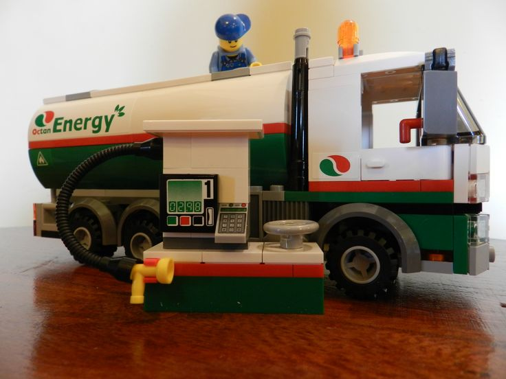 lego city tanker truck 60016 instructions