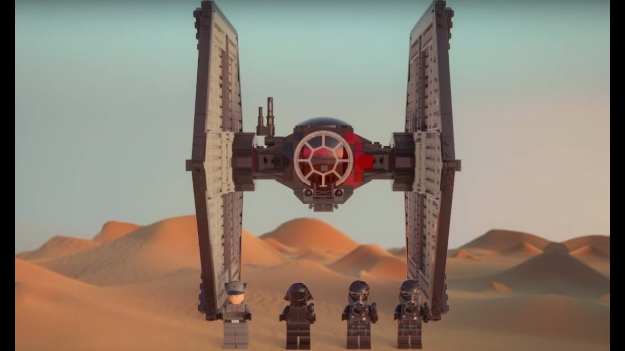 lego tie fighter instructions 75101