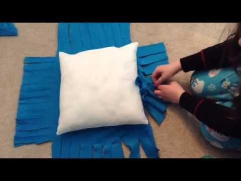 fleece tie blanket instructions