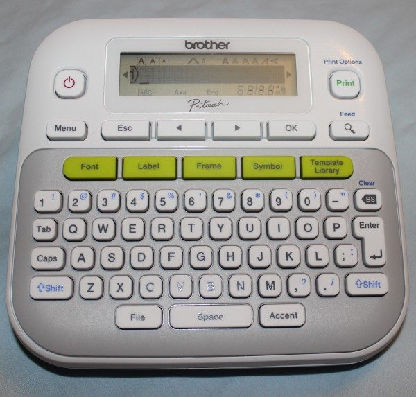 brother p touch pt 80 label maker instructions