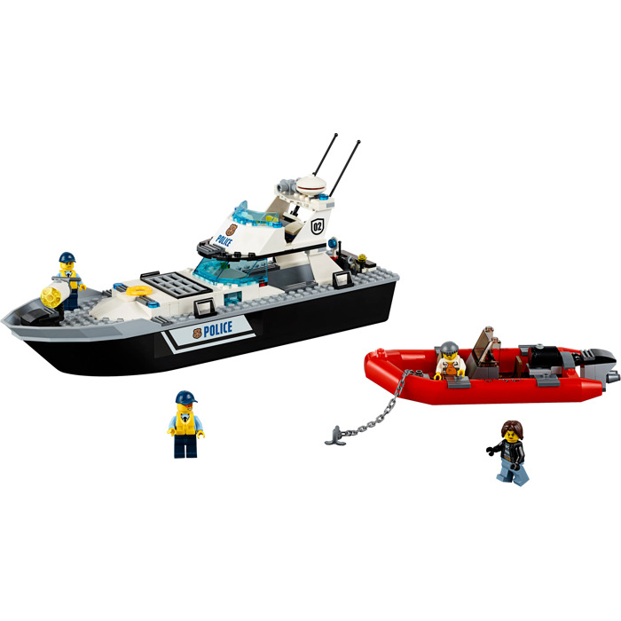 lego city police boat 60129 instructions