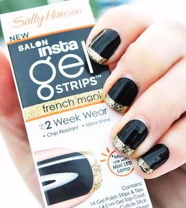 sally hansen gel strips instructions