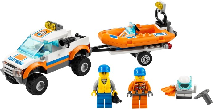 lego city coast guard instructions