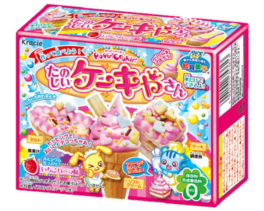 kracie popin cookin donut instructions