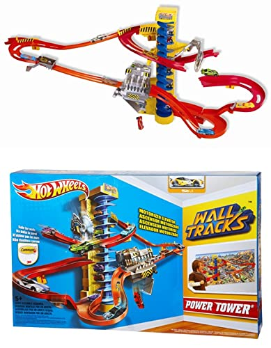 hot wheels wall tracks power tower instructions