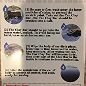 mothers clay bar instructions
