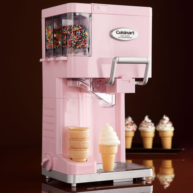 cuisinart soft serve ice cream maker instructions