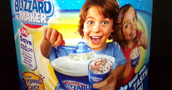 dairy queen blizzard maker instructions