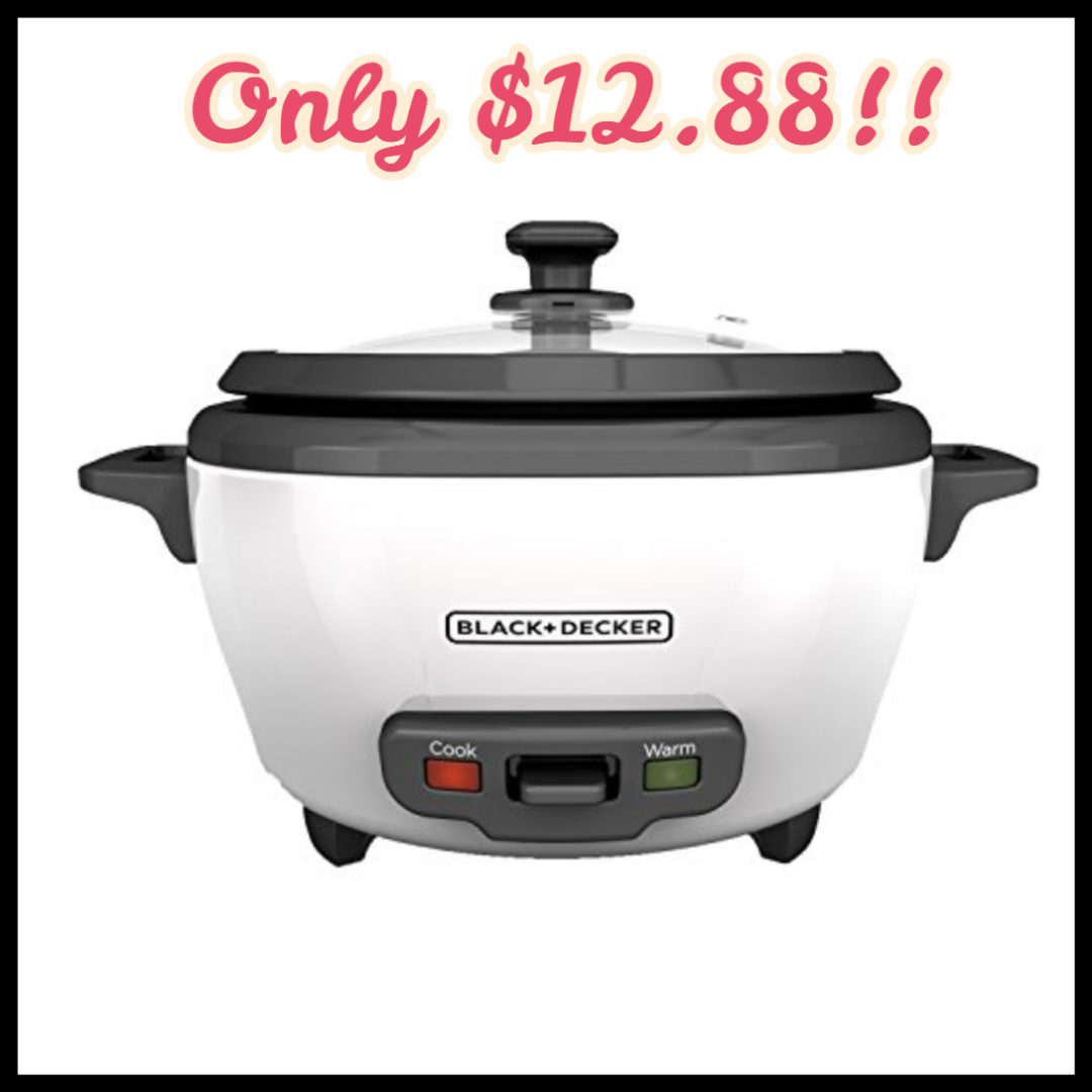 black and decker rice cooker steamer instructions