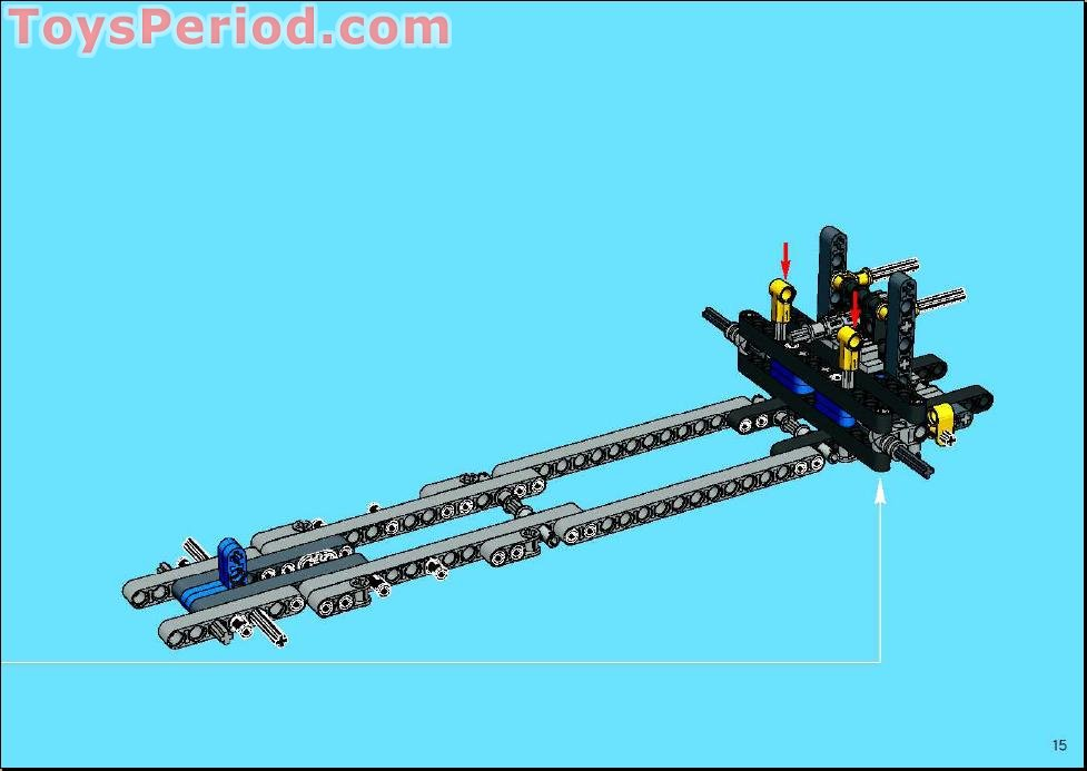 lego technic mobile crane instructions