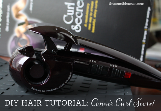 infiniti pro conair curl secret instructions