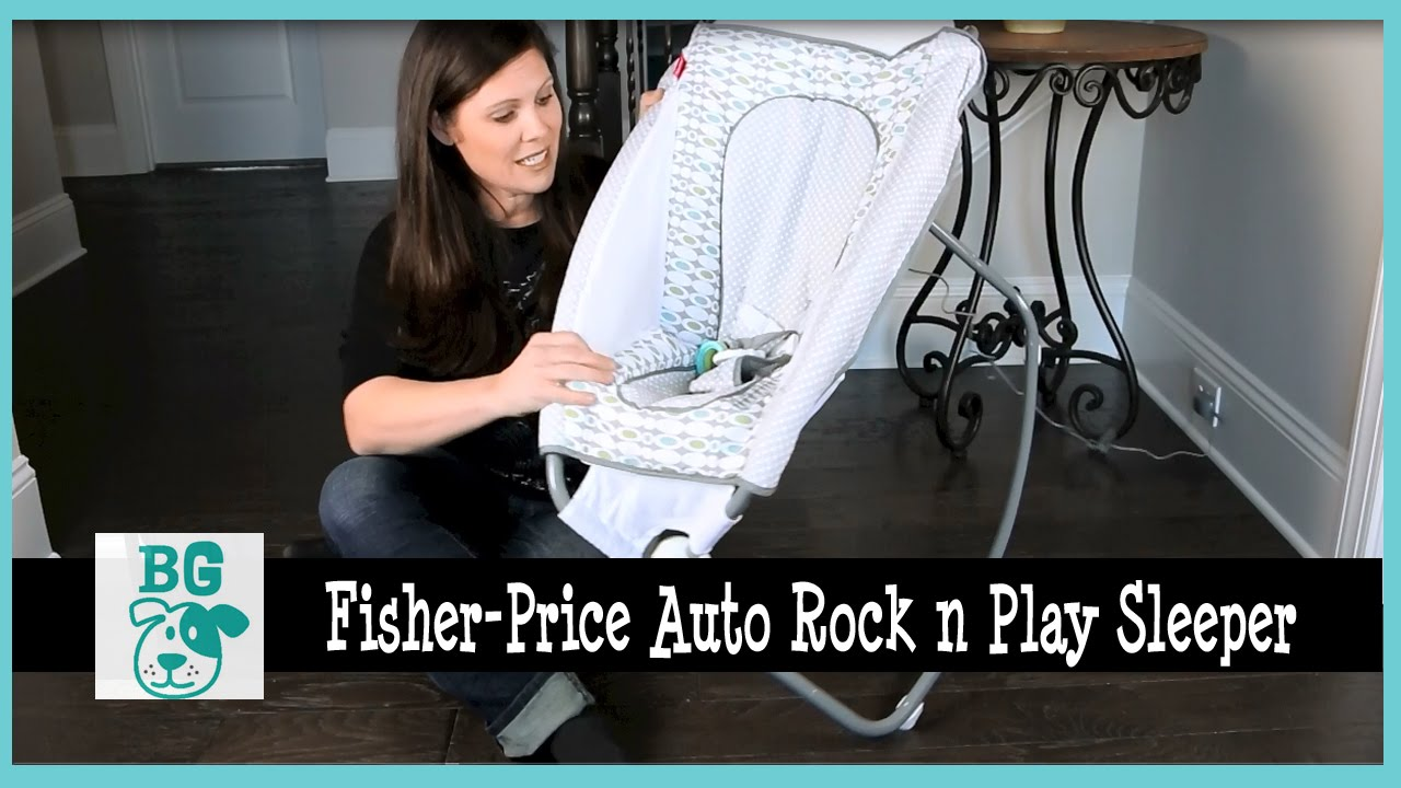 fisher price rock n play instructions