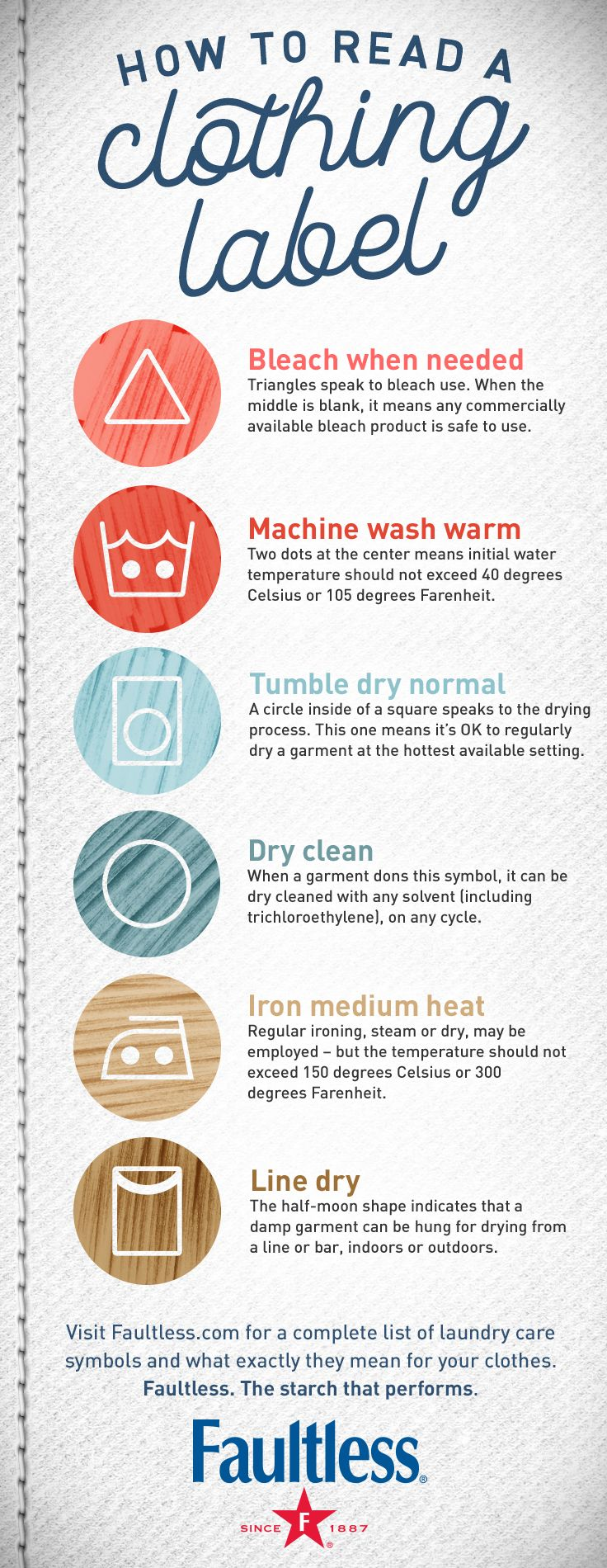 lululemon washing instructions symbols