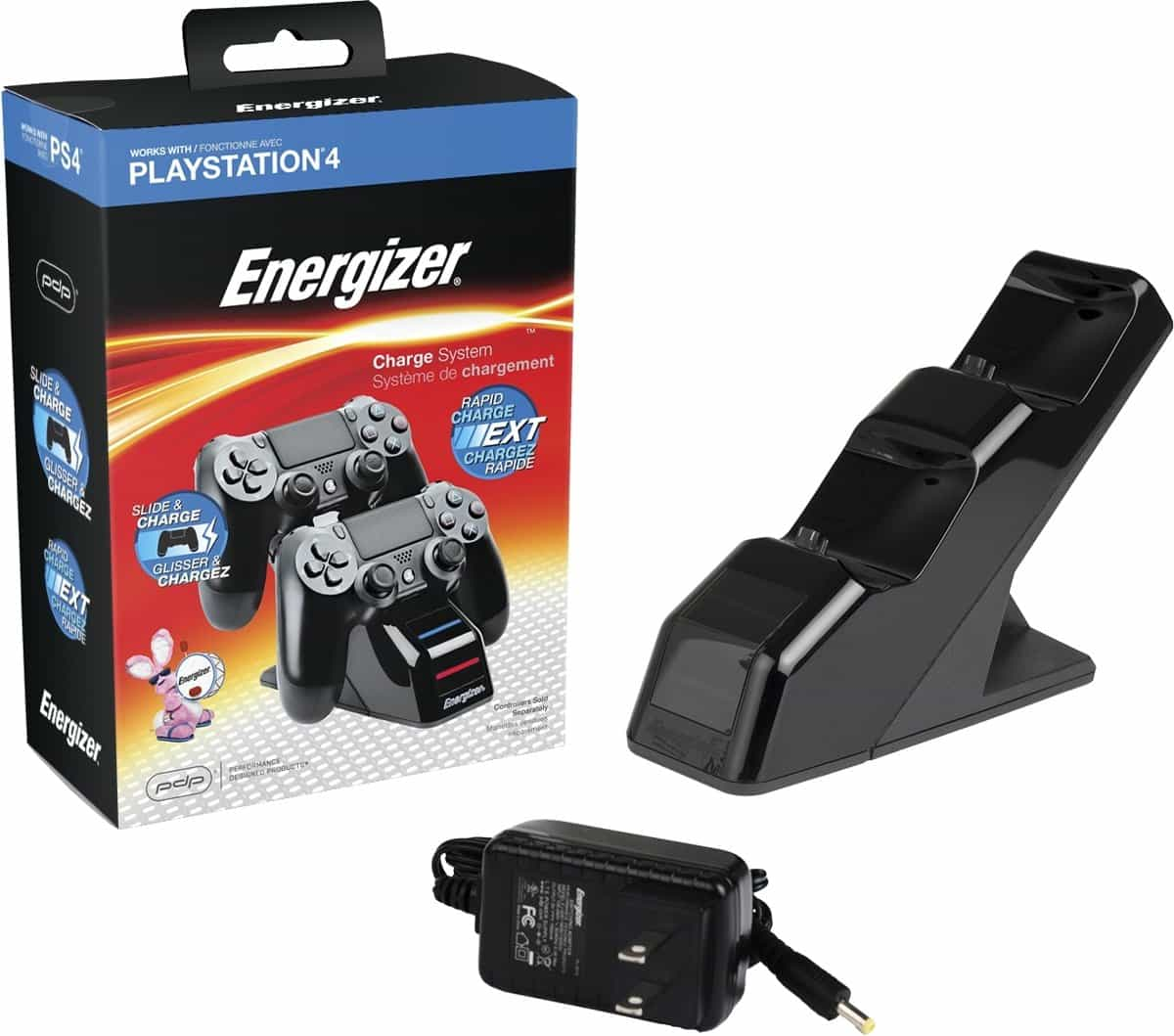 energizer ps4 charger instructions