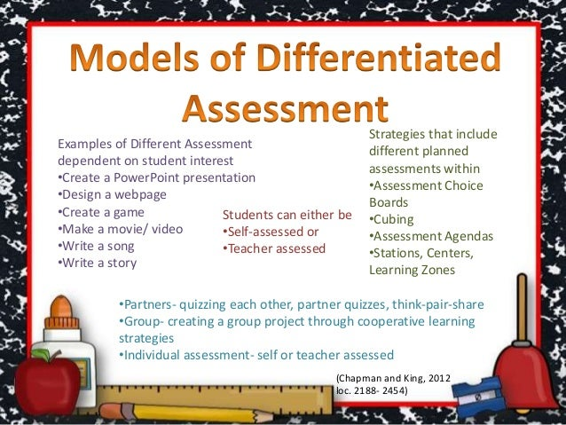 examples of differentiated instruction strategies