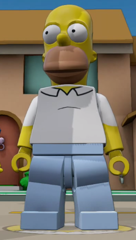 homer simpson lego dimensions instructions