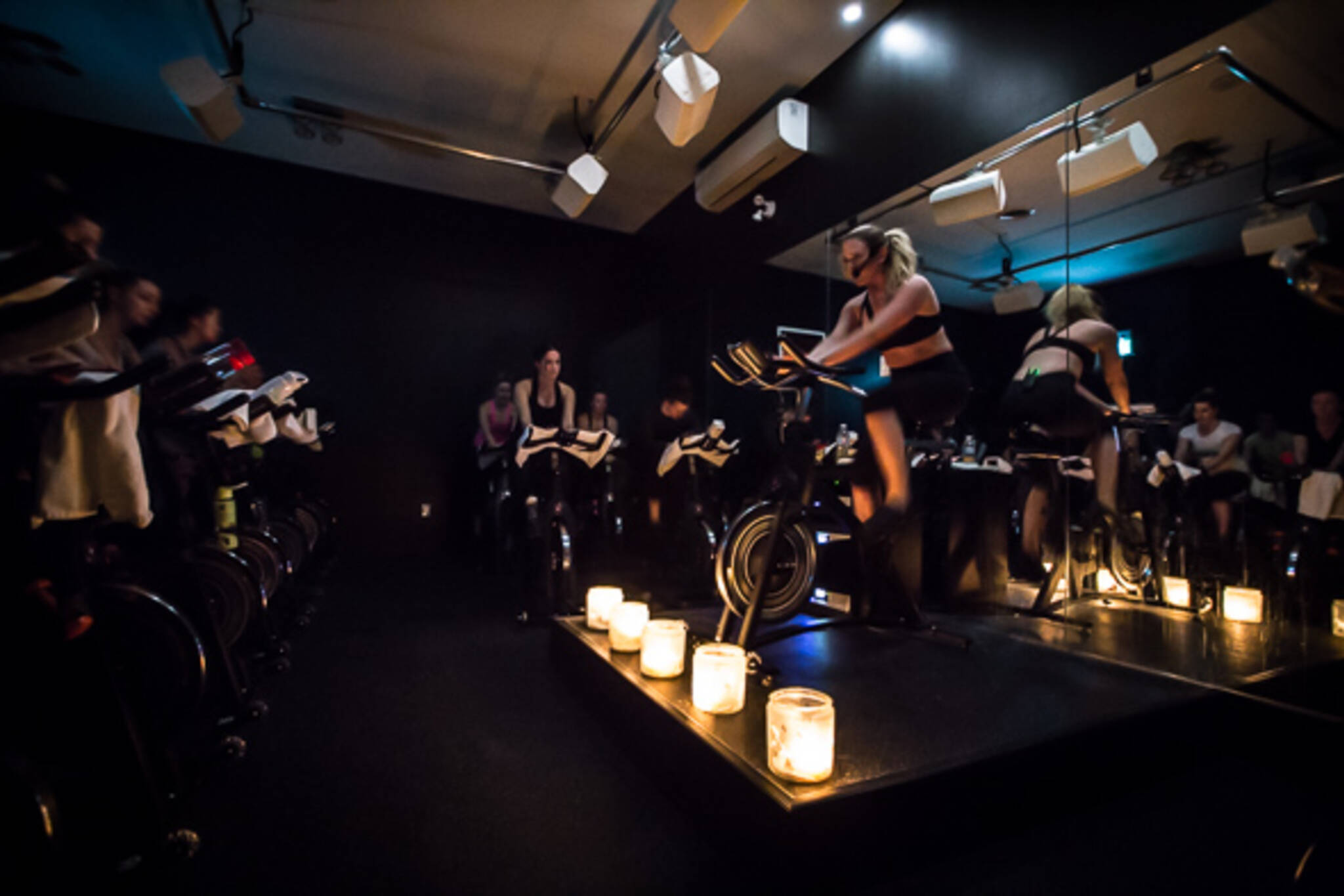 spin class music with instructions
