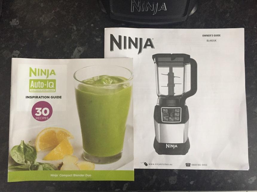 ninja blender instruction guide