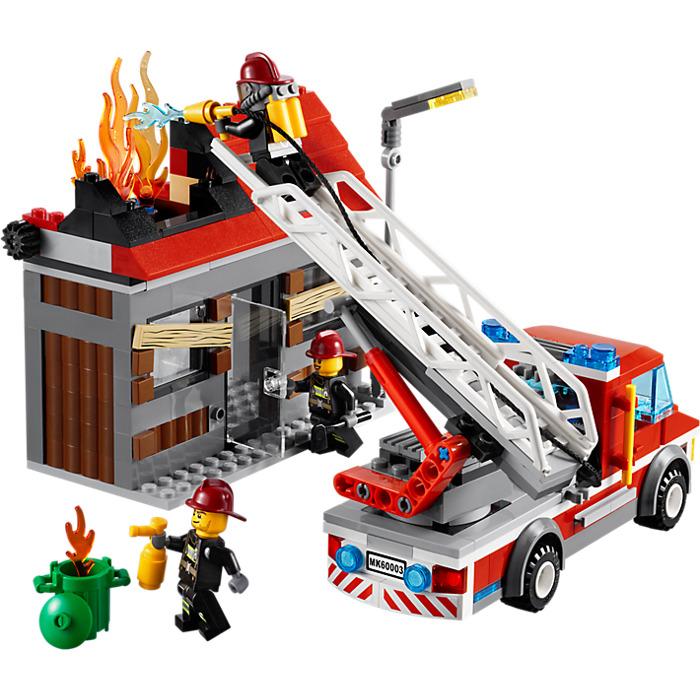 lego junior fire truck instructions