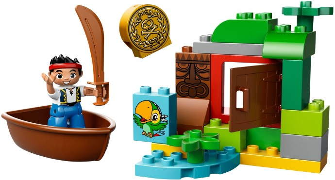 duplo jake and the neverland pirates hideout instructions