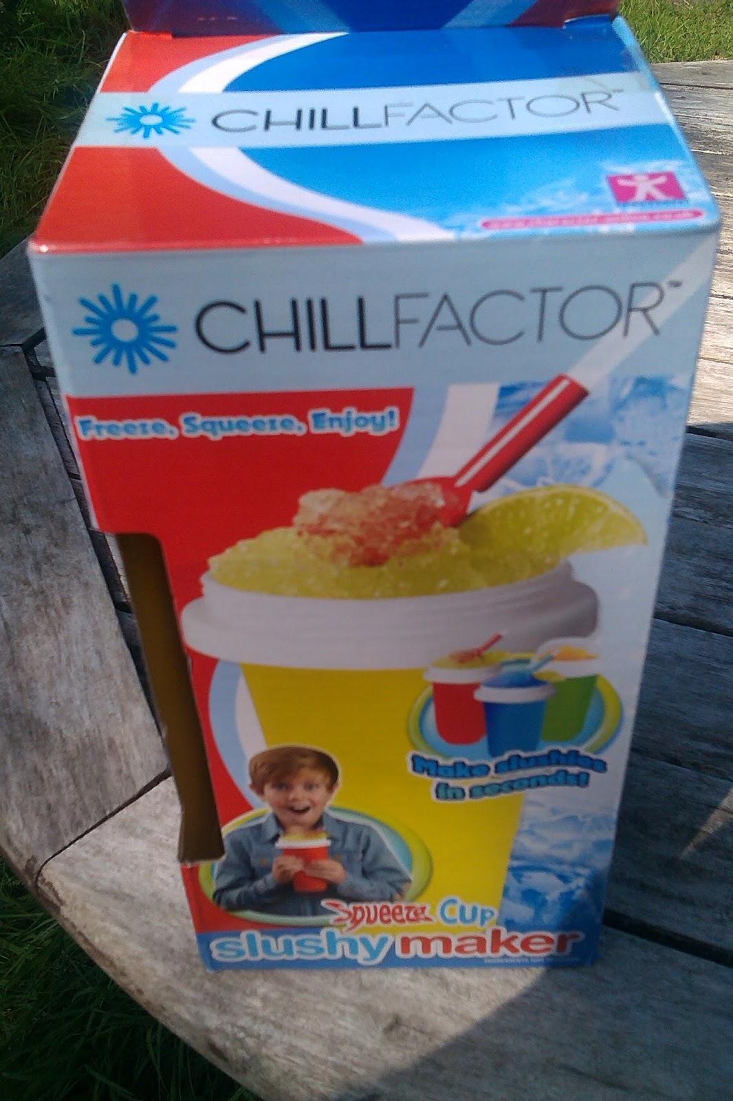 chill factor slushy maker instructions