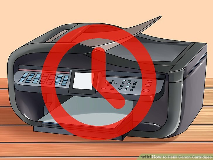 canon printer ink refill instructions