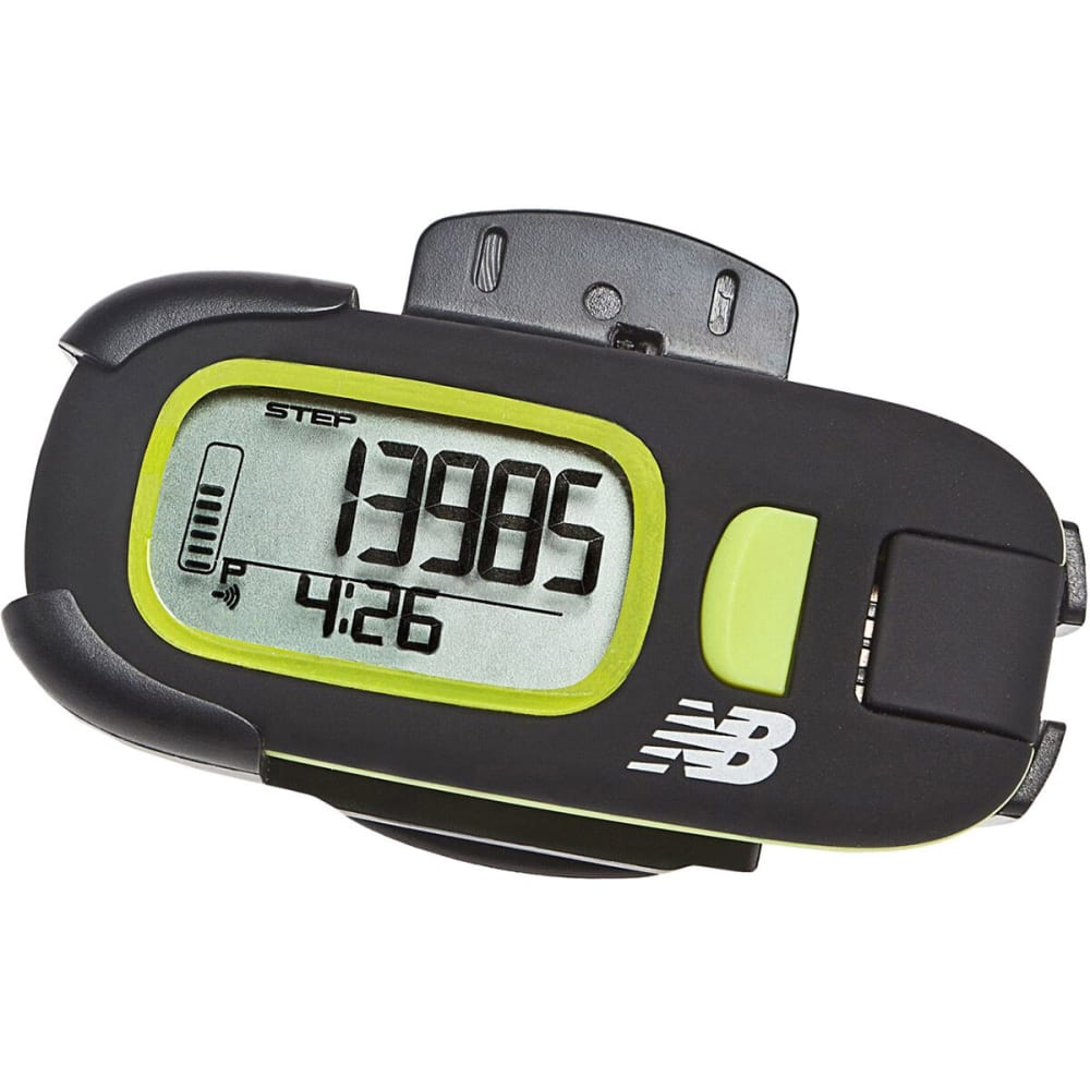 new balance via active pedometer instructions