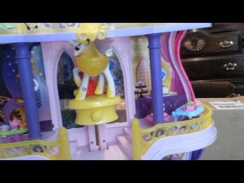 my little pony crystal rainbow castle instructions