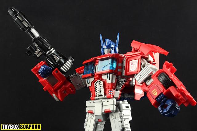 optimus prime combiner wars instructions