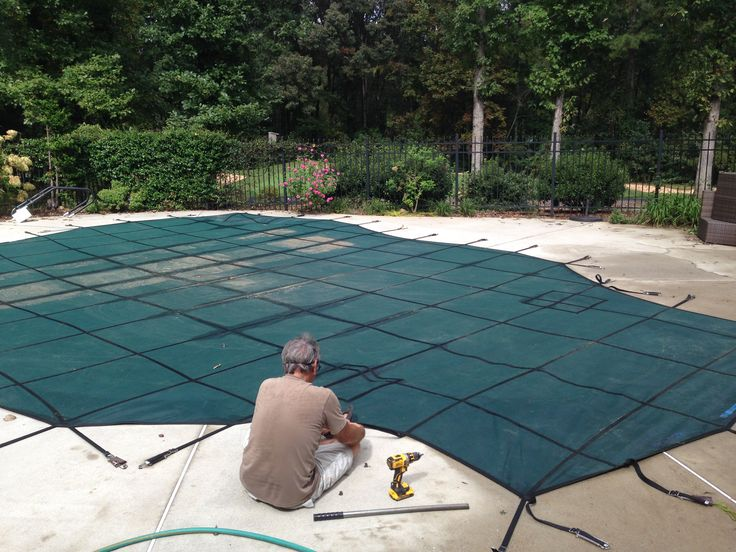 pool cover straps instructions