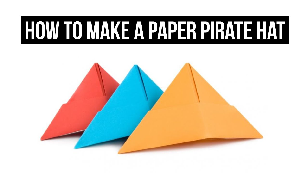 paper pirate hat instructions