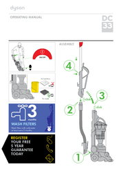dyson dc31 cleaning instructions