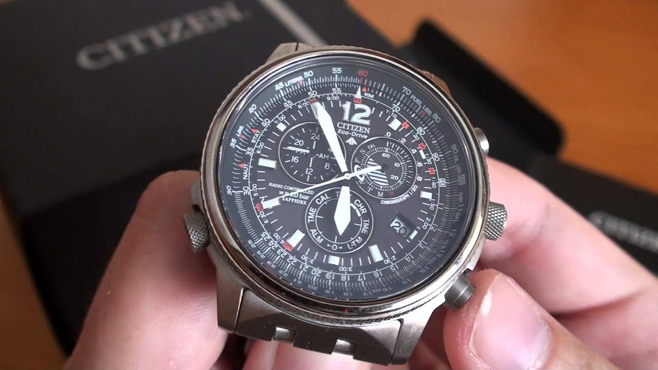 citizen eco drive instructions