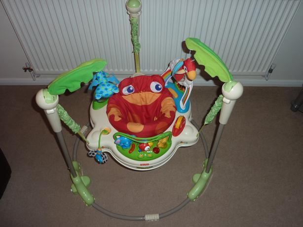 fisher price bouncer assembly instructions