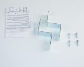 frigidaire stacking kit instructions