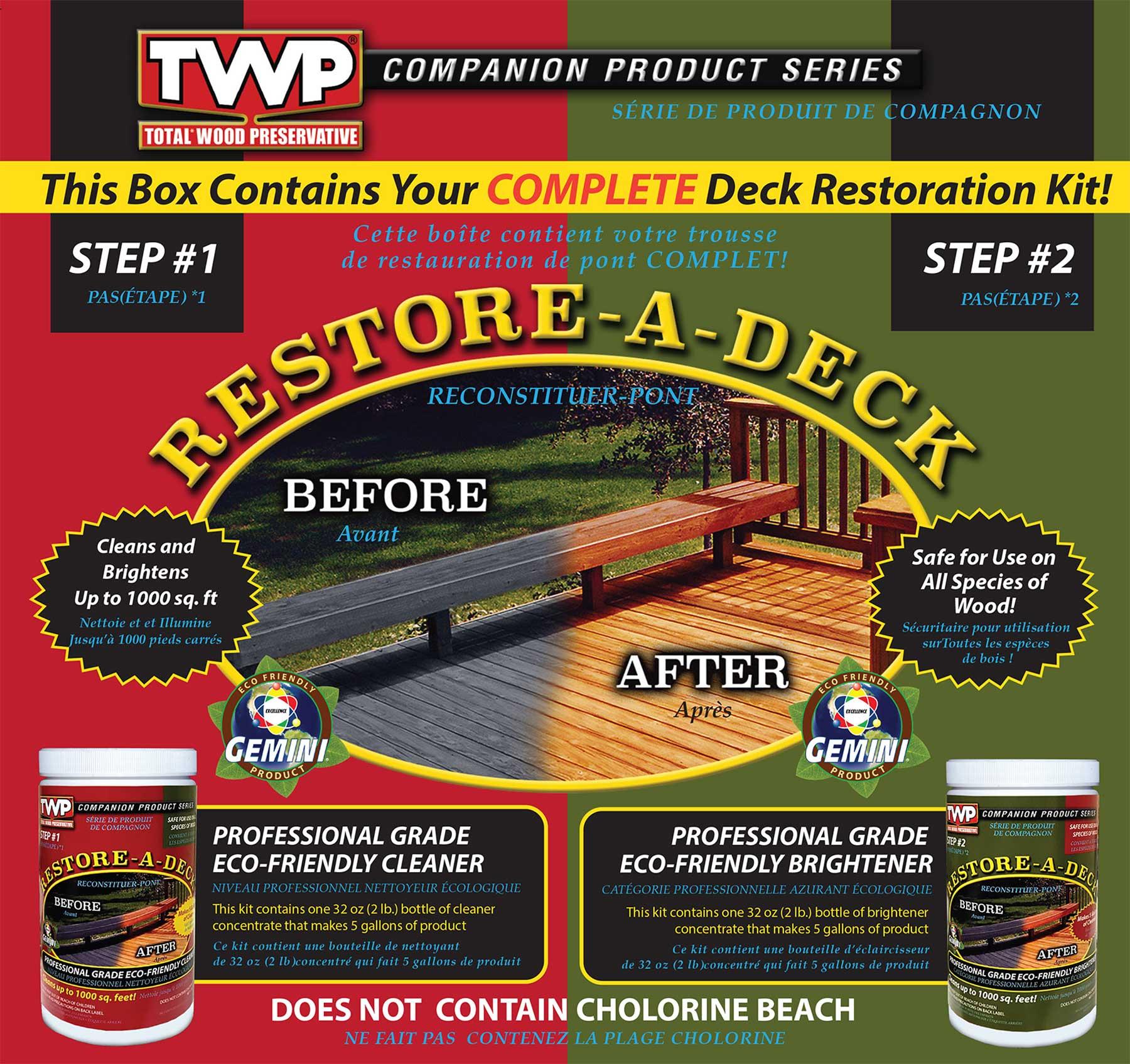 gemini restore a deck kit instructions