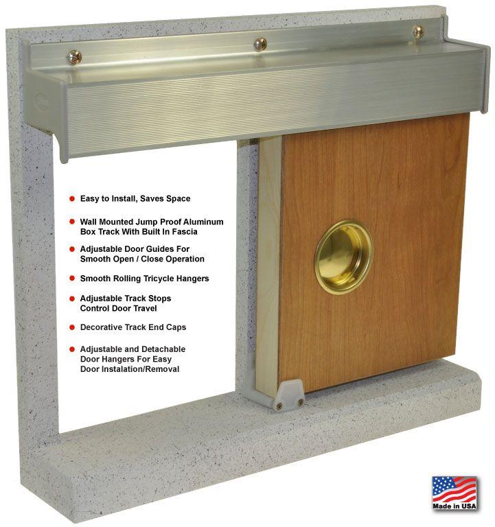 johnson pocket door hardware installation instructions