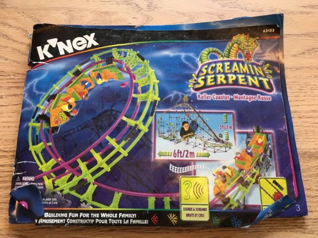 knex screamin serpent instructions