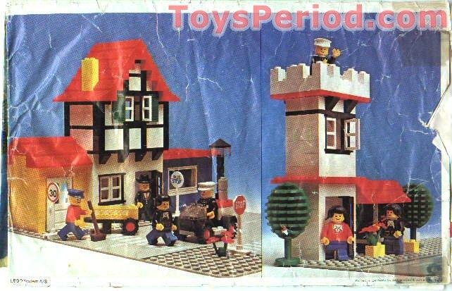 lego city city square instructions